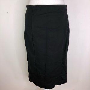 Philosophy Black Pencil Skirt: career job business